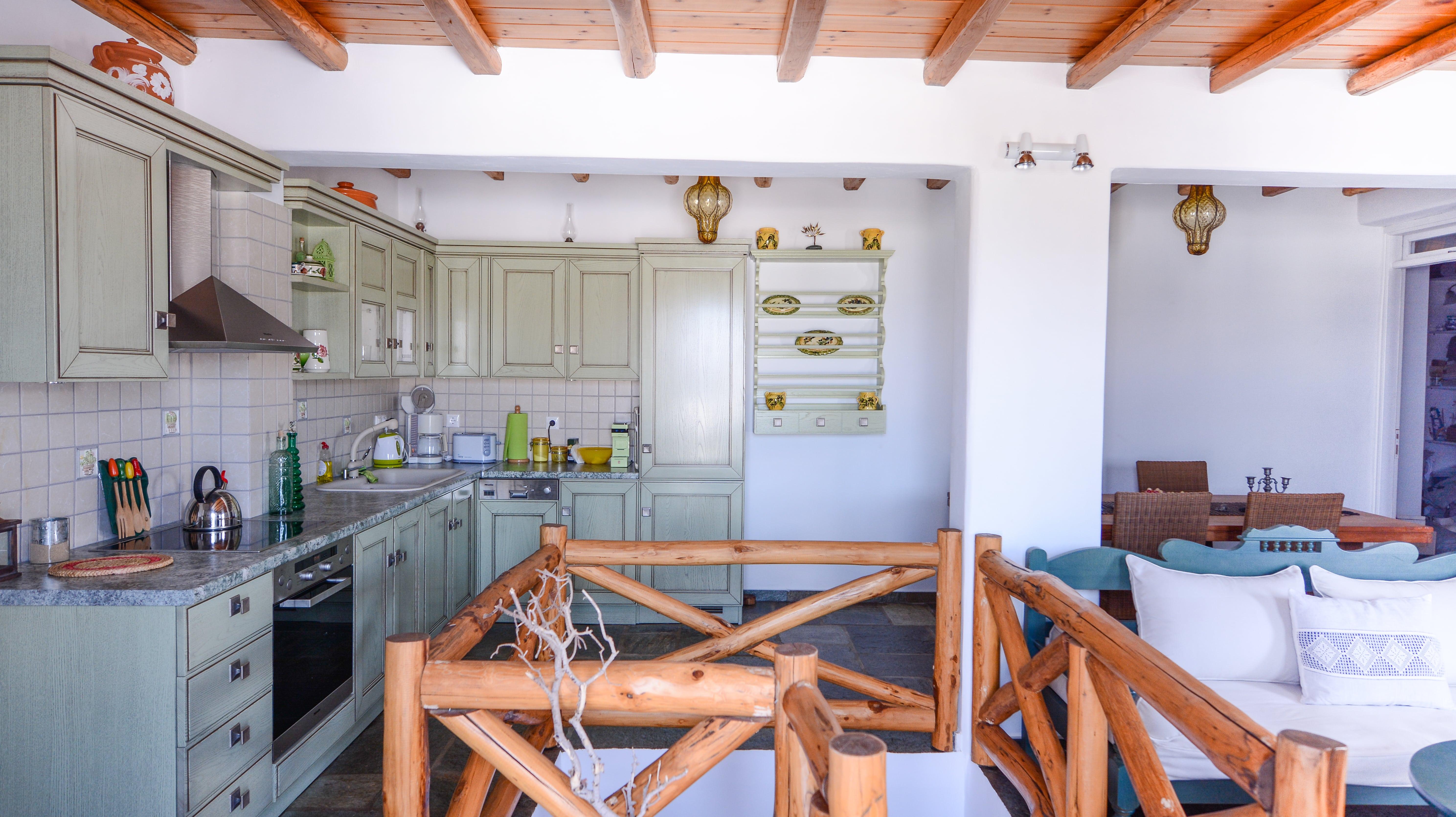 Pénde Villas Verde open plan kitchen