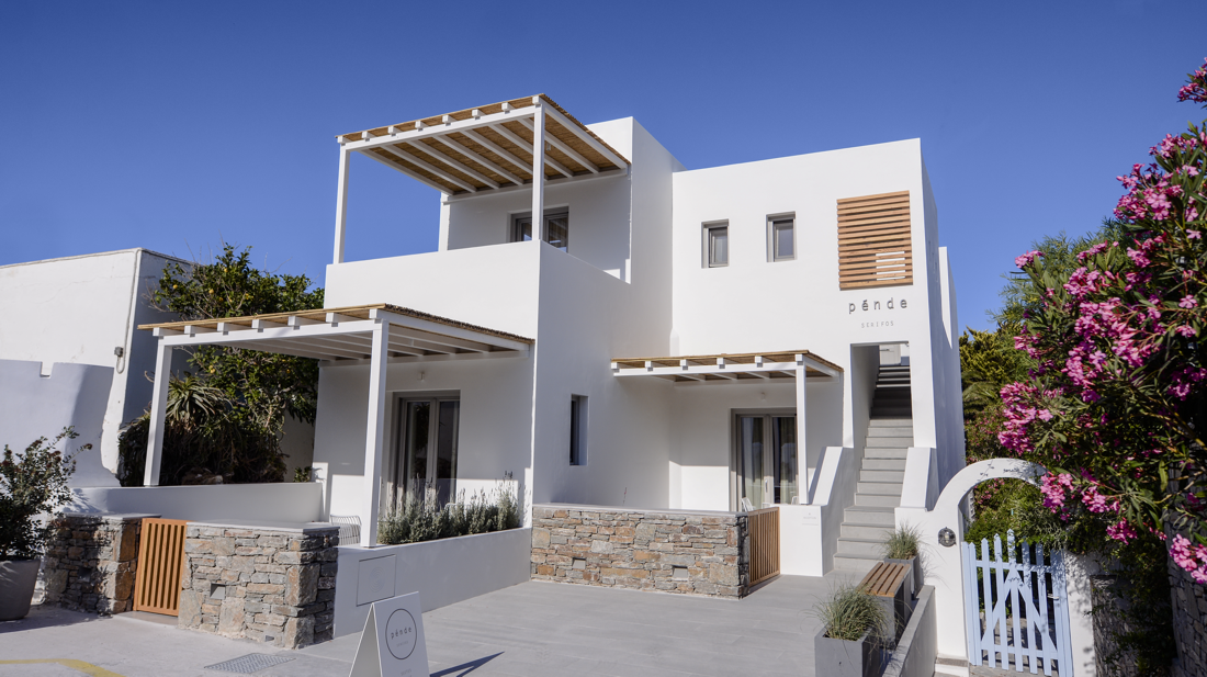 Contemporary accommodation in Serifos Island