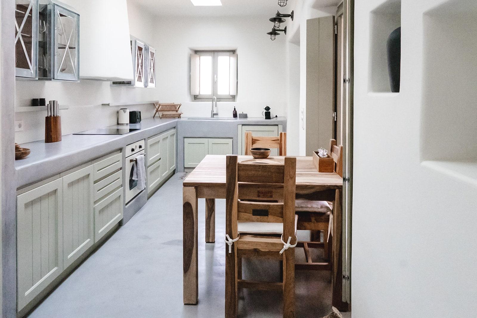Mandri cottage kitchen