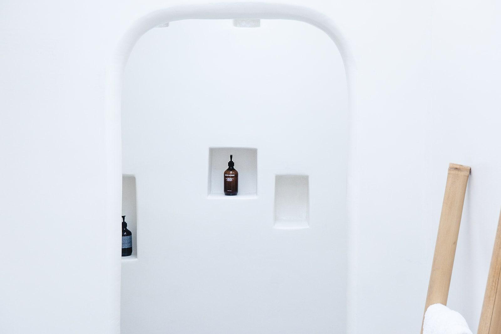 Boutique hotel Serifos Grown Alchemist toiletries
